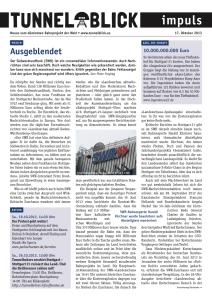 Tunnelblick impuls (17.10.2013)