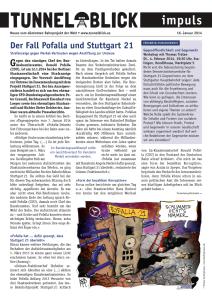 Tunnelblick Impuls 16.1.2014