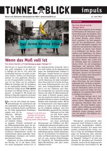 Tunnelblick impuls 12.6.2014